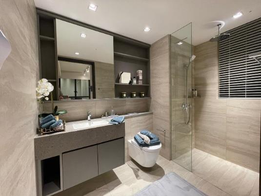 Parc Greenwich Master Bathroom